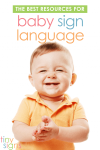 Looking for the best baby sign language book, videos and flash cards? So many people have asked me what I recommend, so I put this resource guide to help!