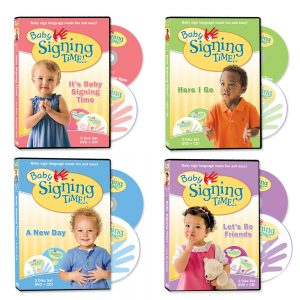 Baby Signing Time DVDs, Vols. 1-4