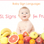Learn 10 ASL Signs for Fruits