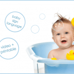 Baby Sign Language: Bath Time Signs!