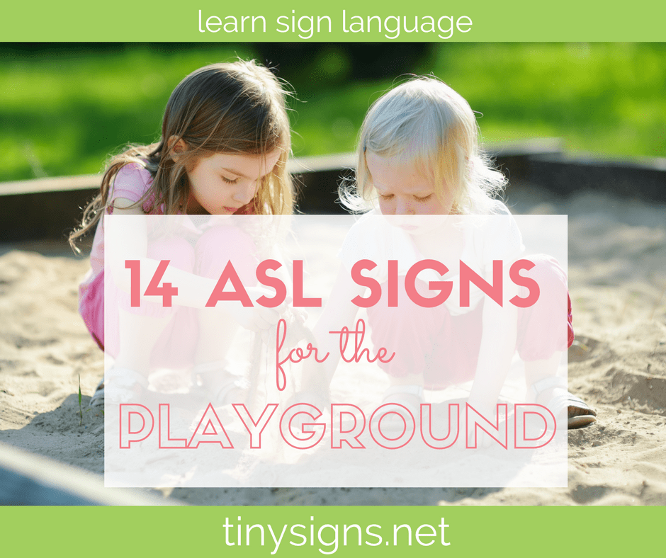 Baby Sign Language at the Playground!