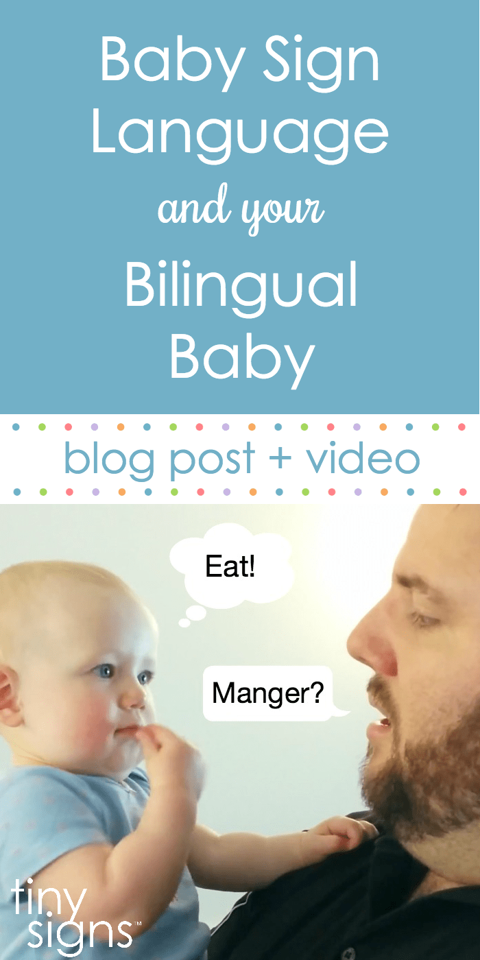 Bilingual Baby Pinterest Tiny Signs