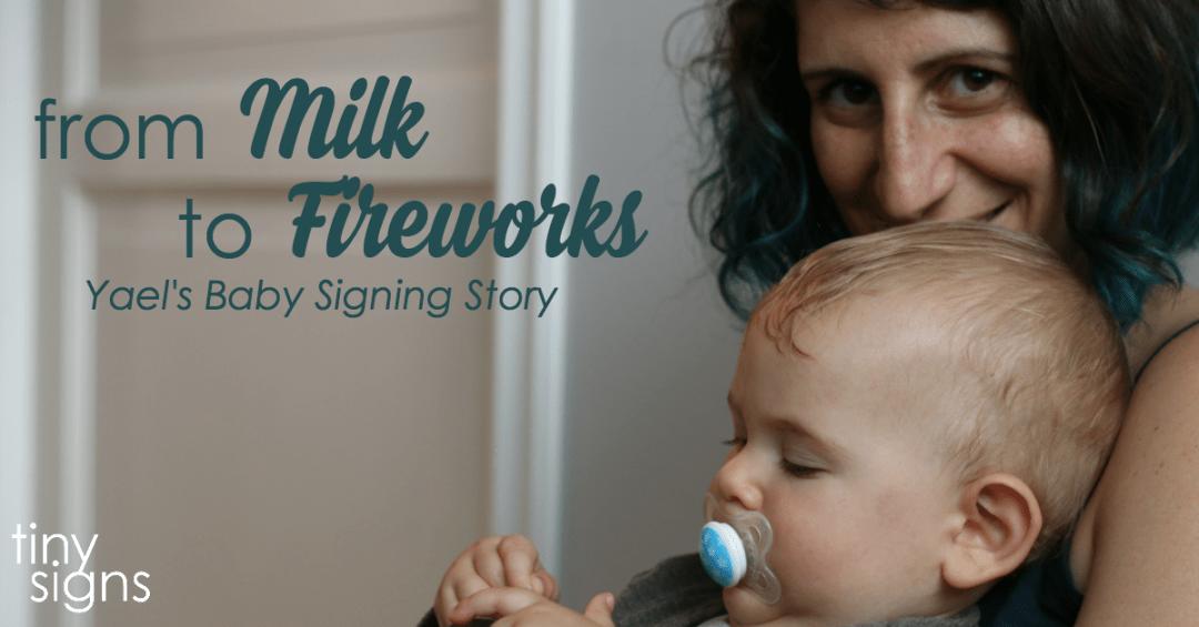 Tiny Signs Member Spotlight – Yael's Story