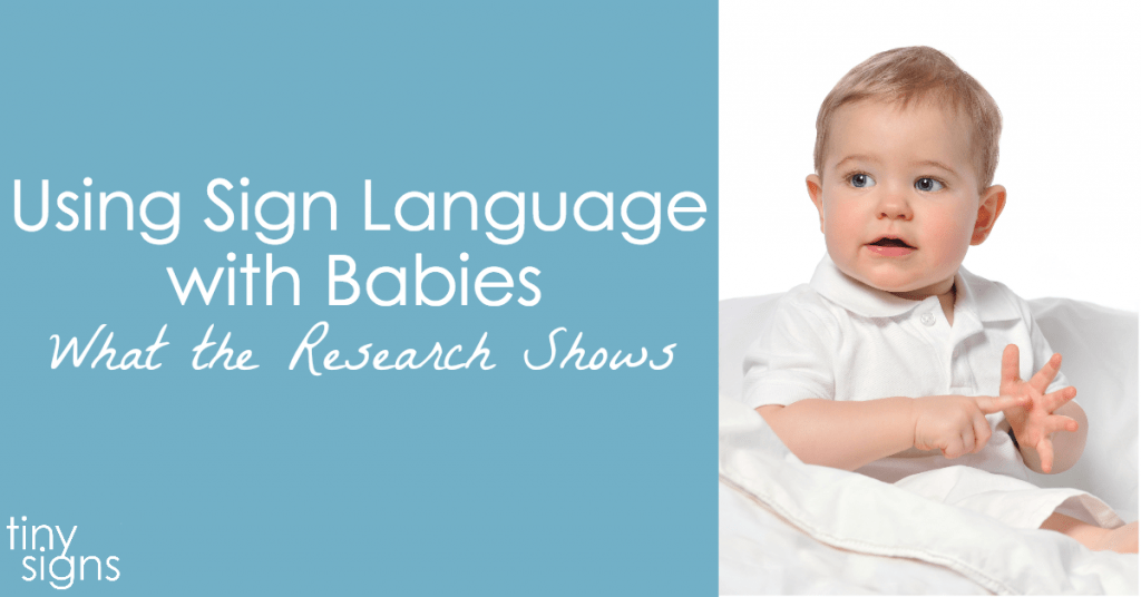 sign language speaks through babies essay