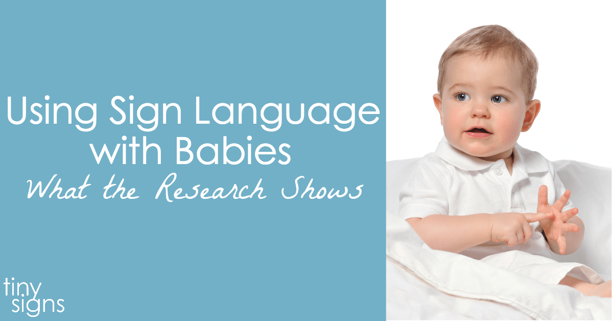 baby sign language research paper The original baby signs or sign language have completed intensive research that demonstrates using signs with pre-verbal babies helps them learn to.