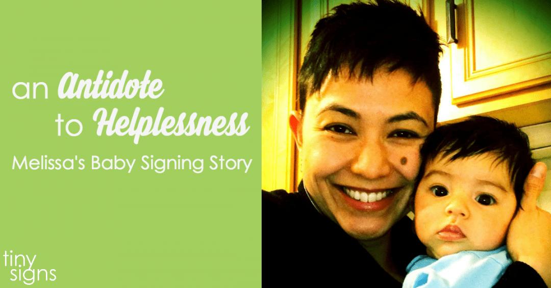Melissa's Baby Signing Story :: A Tiny Signs Member Spotlight