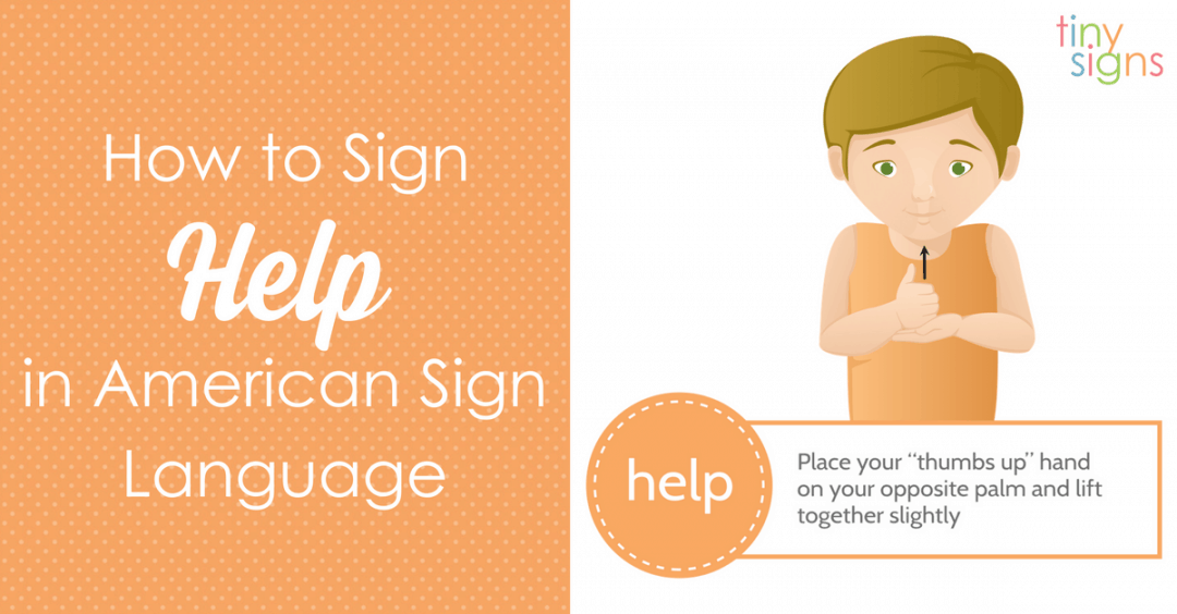 "How to Teach Your Baby To Sign ""Help"""