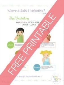 Free Baby Sign Language Printable