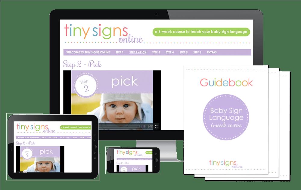 Tiny Signs Online Baby Sign Language program