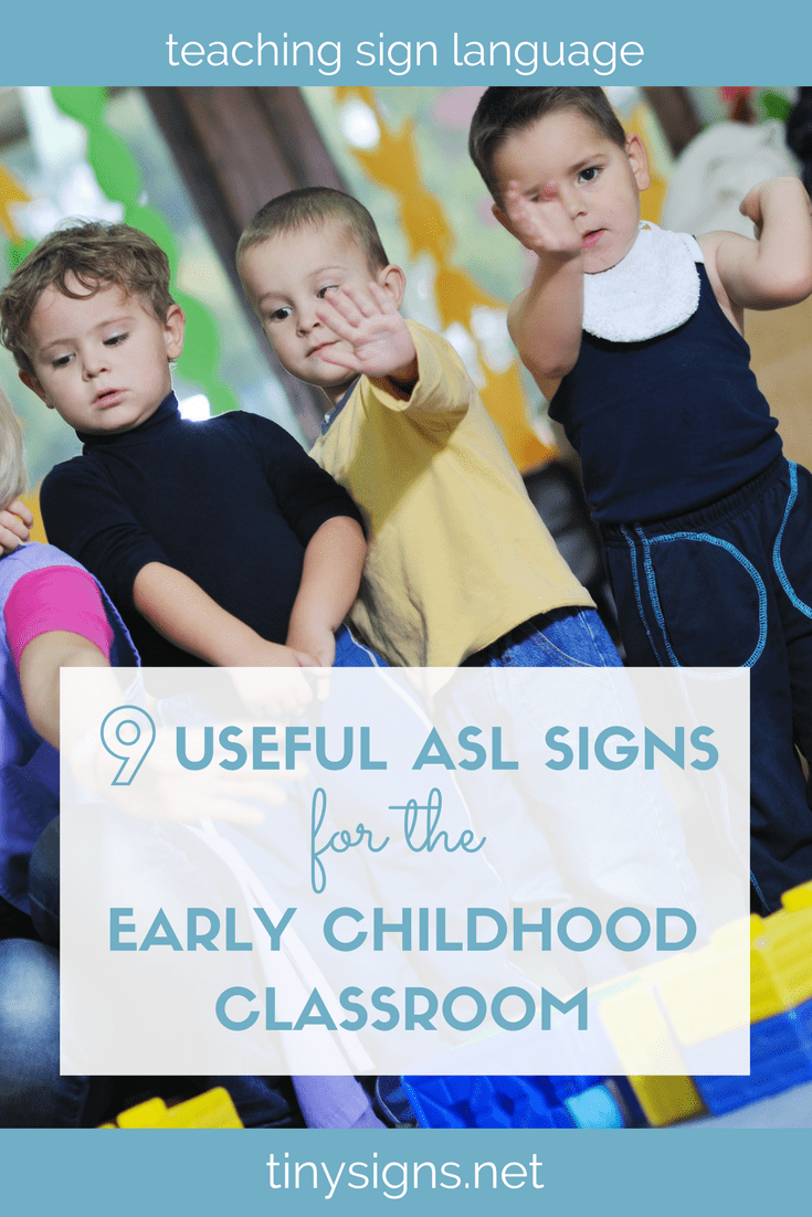 If you've been thinking about adding some basic American Sign Language to your early learning classroom, this is for you! Learn 9 simple ASL signs that you can use every day as you move through your daily routines to get starting signing with your young learners.
