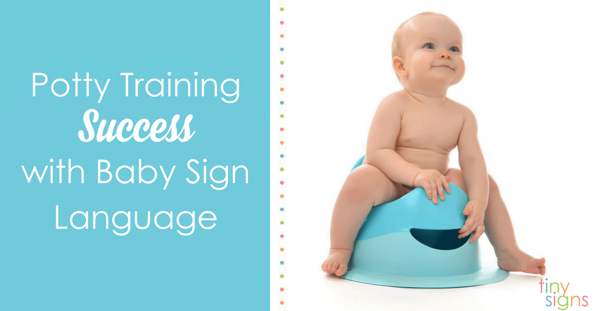 Potty training with baby sign language can ease the communication gap with your little one. Learn 8 ASL signs to help potty train your toddler!